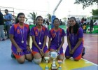 GIS girls basketball team sweeps away titles at the 3rd Inter-school  3 x 3 Basketball Tournament!